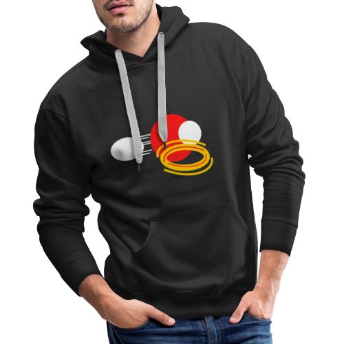 Crimson Power - Men's Premium Hoodie