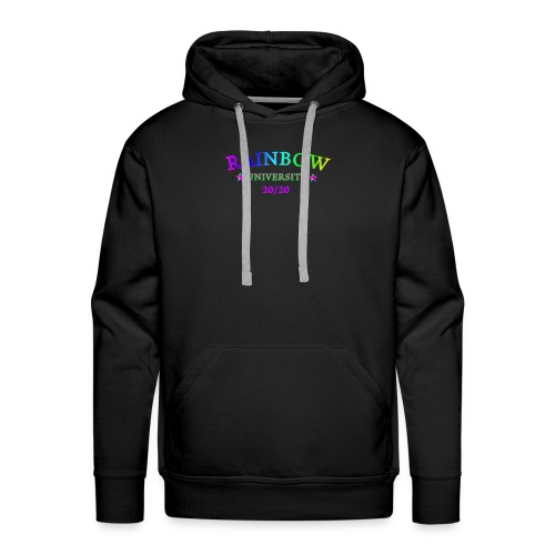 RAINBOW UNIVERSITY AGENDA 20/20 LGBTQIA - Männer Premium Hoodie
