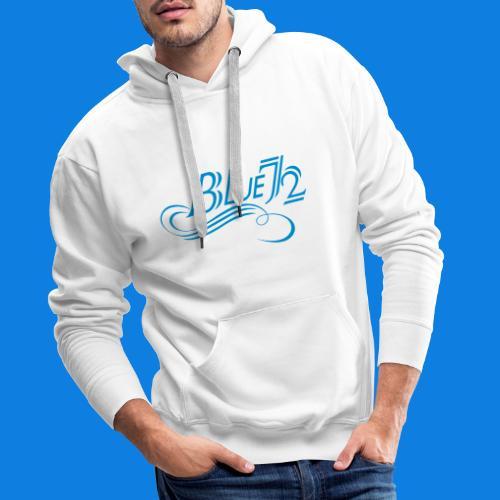 Logo BLUE72 - Männer Premium Hoodie