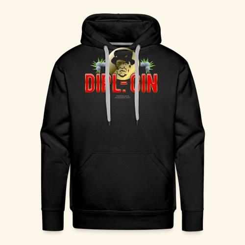 Gin T Shirt Design Dipl.-Gin - Männer Premium Hoodie