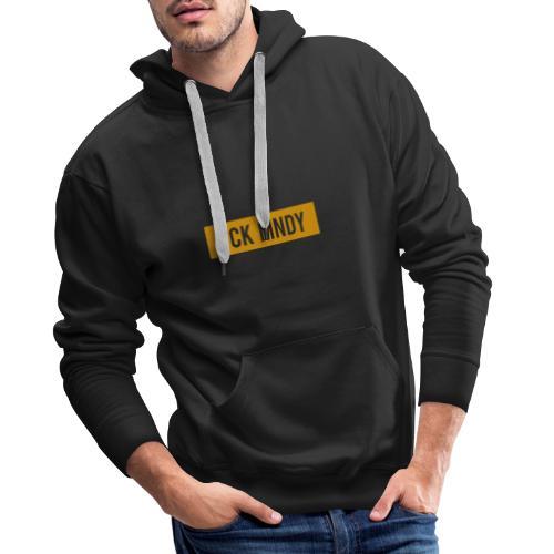 fckmndy lele design4 - Männer Premium Hoodie