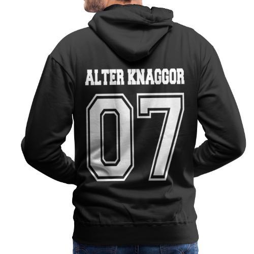 Alter Knaggor 06 - Männer Premium Hoodie