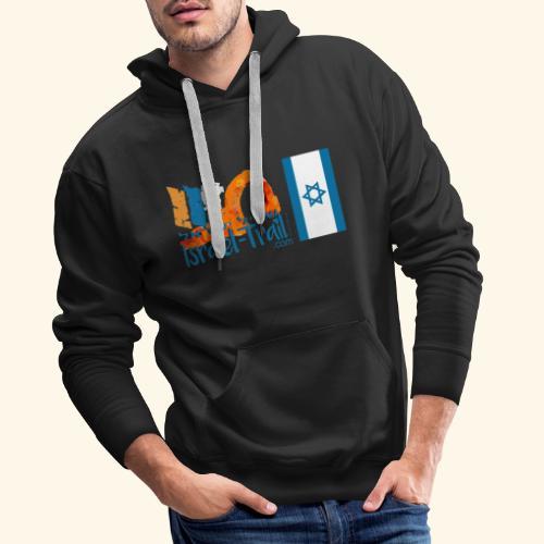 Shvil Israel/ Israel-Trail, Israelflagge - Männer Premium Hoodie