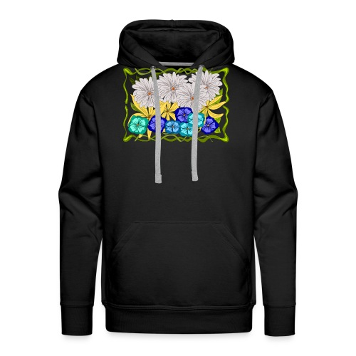 Flowers and more - Mannen Premium hoodie