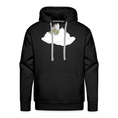 cloud house - Men's Premium Hoodie