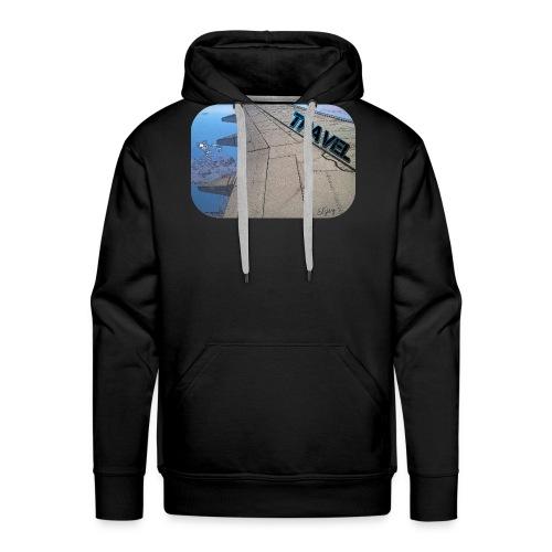 Reisen (Travel) Flugzeug - Männer Premium Hoodie