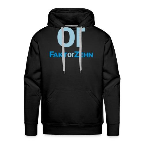 FaktorZehn_Logo_neu2 - Männer Premium Hoodie