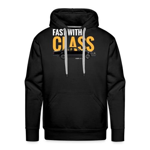 Fast with class* - Sweat-shirt à capuche Premium pour hommes