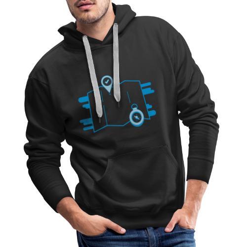 destination - Sweat-shirt à capuche Premium pour hommes