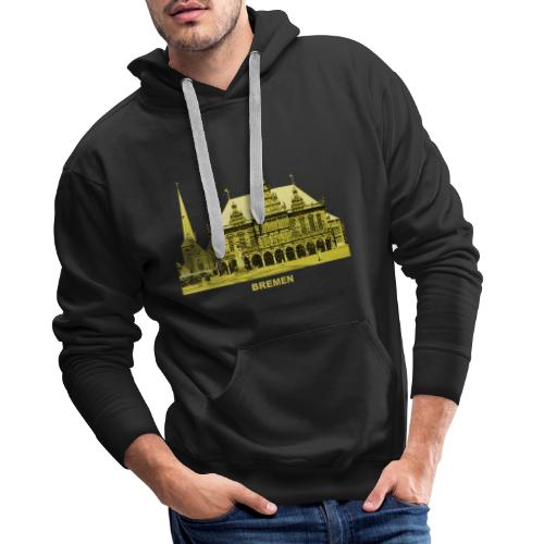 Bremen Rathaus Roland Hansestadt Deutschland - Männer Premium Hoodie