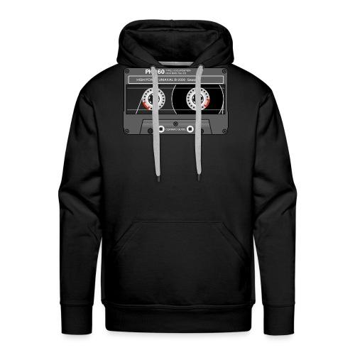 Cassette SONY UX Pro black - Men's Premium Hoodie