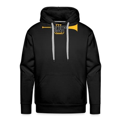 hammer blech logo 85mmbreit - Männer Premium Hoodie