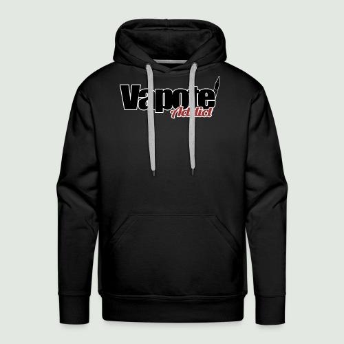 vapote addict - Sweat-shirt à capuche Premium pour hommes