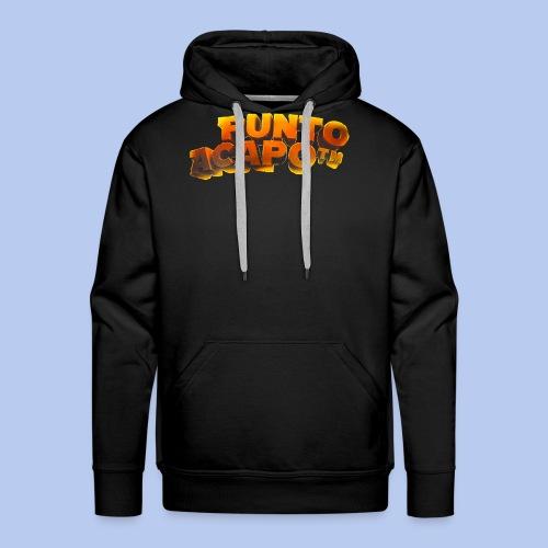 Maglietta PuntoACapo- Original Design- - Felpa con cappuccio premium da uomo