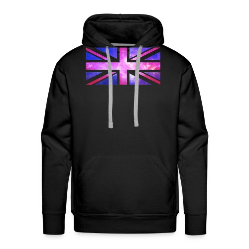 Galaxy Union Jack - Men's Premium Hoodie