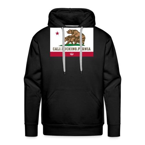 California, Californiano, Fuck, Orso - Felpa con cappuccio premium da uomo