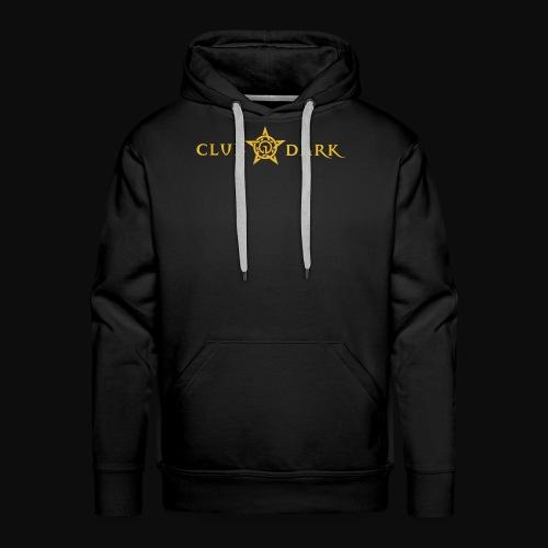 Club Dark Type - Herre Premium hættetrøje