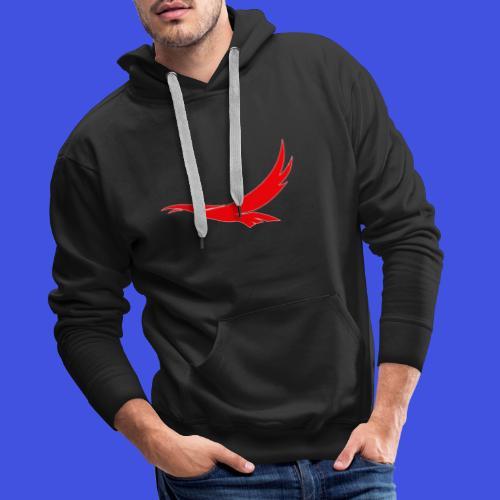 Falco di EAGiovani - Felpa con cappuccio premium da uomo