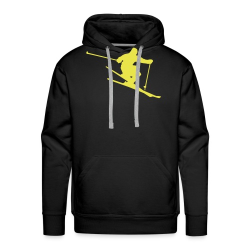 Skiing Live your Dream - Männer Premium Hoodie