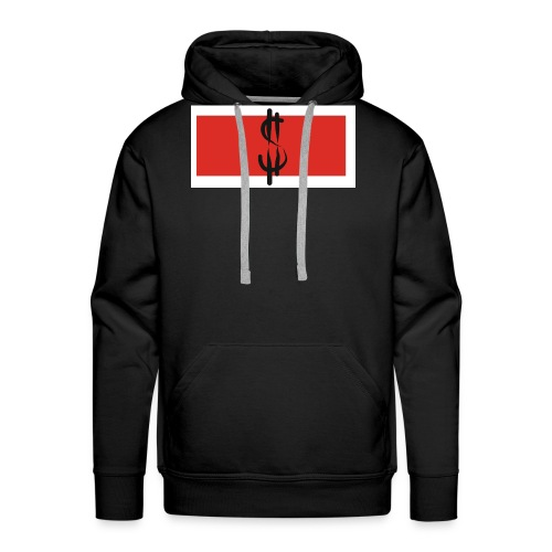 Money in Red - Männer Premium Hoodie