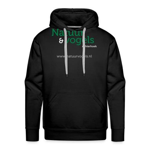 Natuurvogels2016 - Mannen Premium hoodie