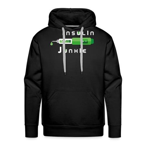 Insulin-Shirt-green - Männer Premium Hoodie