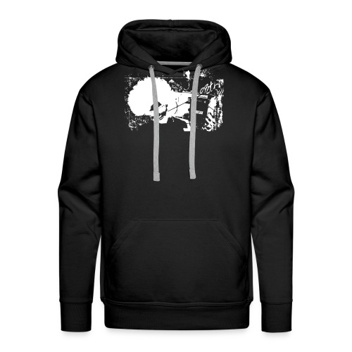 music boy - Men's Premium Hoodie