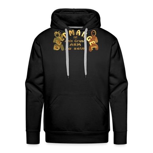 Geldmangel _gold_01 - Männer Premium Hoodie