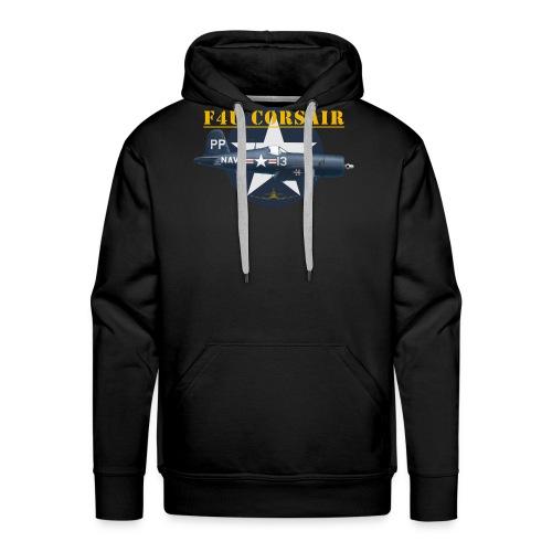 F4U-5P shirt design - Men's Premium Hoodie