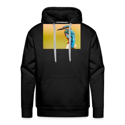kingfisher 2046453 1920 - Männer Premium Hoodie