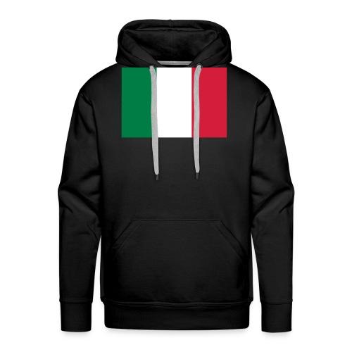 bandieraITA - Felpa con cappuccio premium da uomo