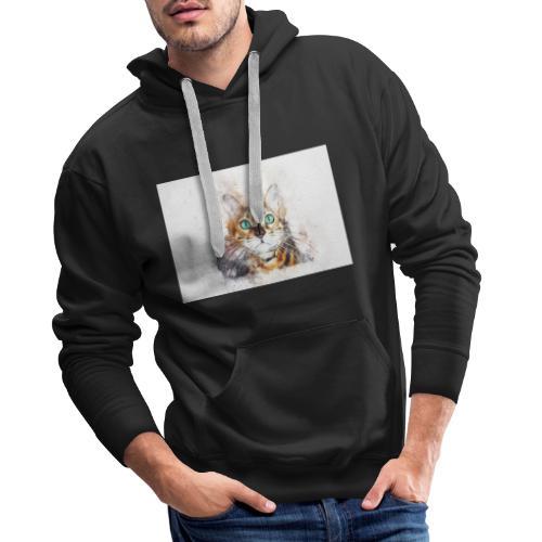 Katzen Design - Männer Premium Hoodie