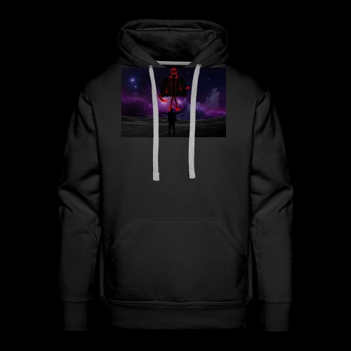 Praise The Dark One - Men's Premium Hoodie