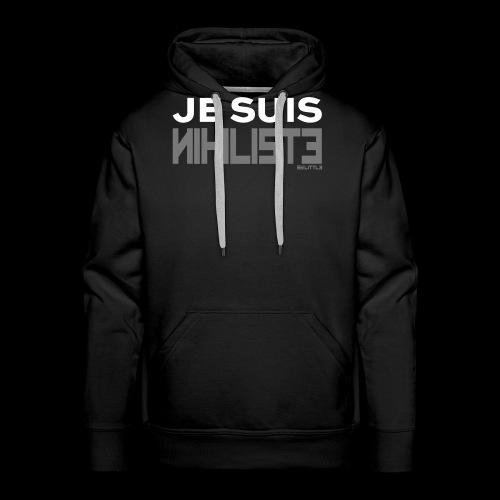 Je suis nihiliste by Lpb - Sweat-shirt à capuche Premium pour hommes