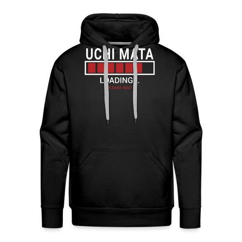 Uchi Mata Loading... pleas Wait - Bluza męska Premium z kapturem
