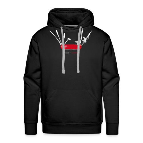 In case of zombies - Männer Premium Hoodie