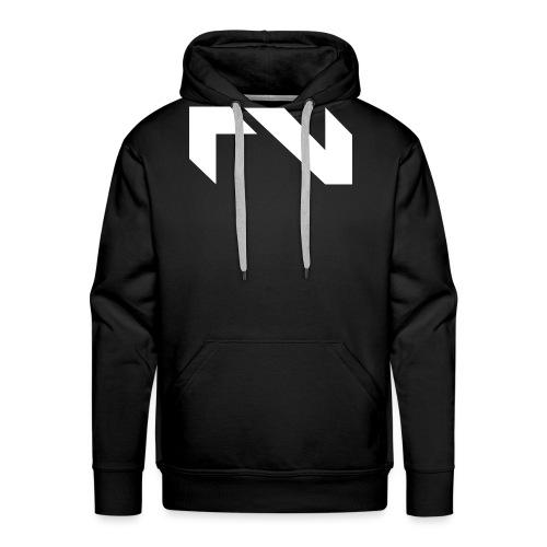 Logo white png - Mannen Premium hoodie