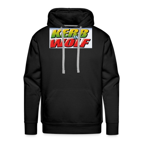 Logo Kerb in Wolf 3 - Männer Premium Hoodie