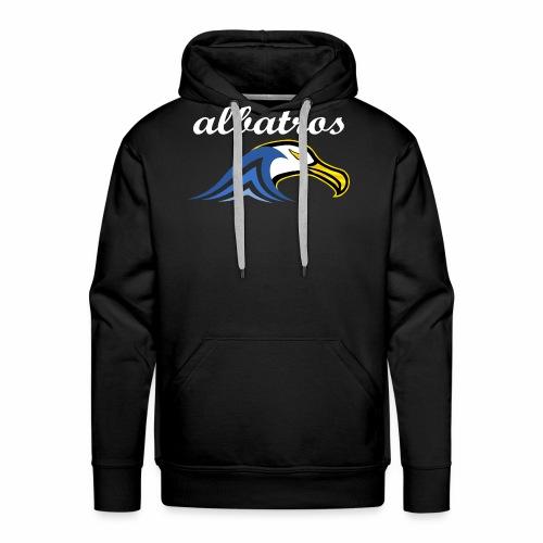 Logo_Albatros_w - Sweat-shirt à capuche Premium pour hommes