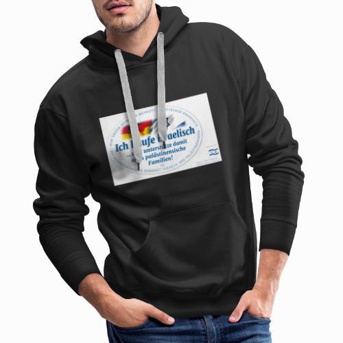 Ich kaufe Israelisch ILI - Männer Premium Hoodie