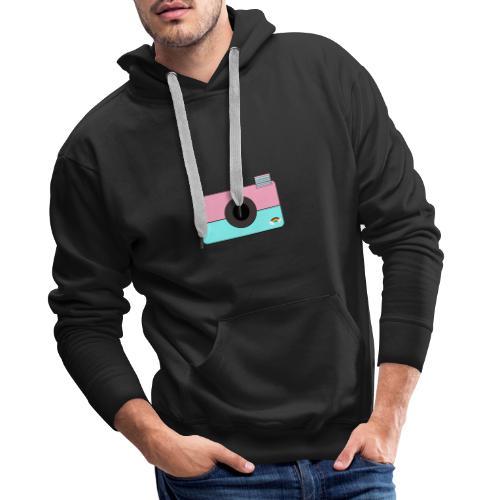 Djoeke de vlogster camera - Mannen Premium hoodie