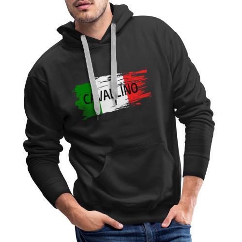 Cavallino auf Flagge - Männer Premium Hoodie