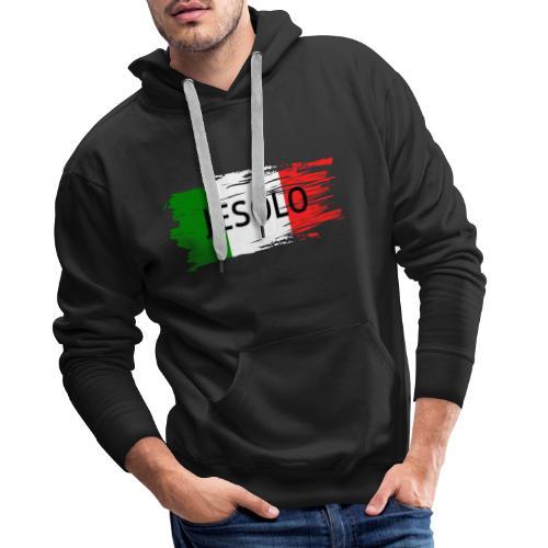 Jesolo auf Flagge - Männer Premium Hoodie