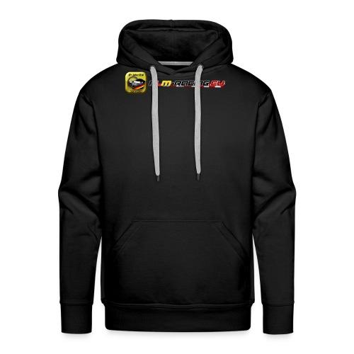 DLM-Racing-eu Logo+URL - Männer Premium Hoodie