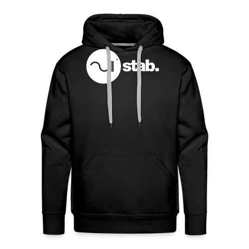 stablogotransparant4000 - Mannen Premium hoodie