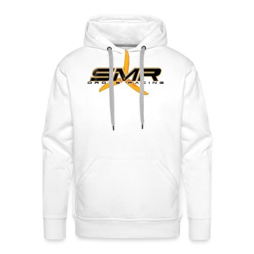 SMR WHITE - Sweat-shirt à capuche Premium pour hommes
