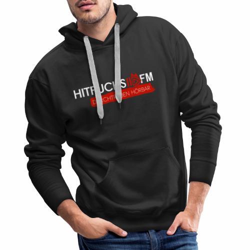 Logo white - Men's Premium Hoodie