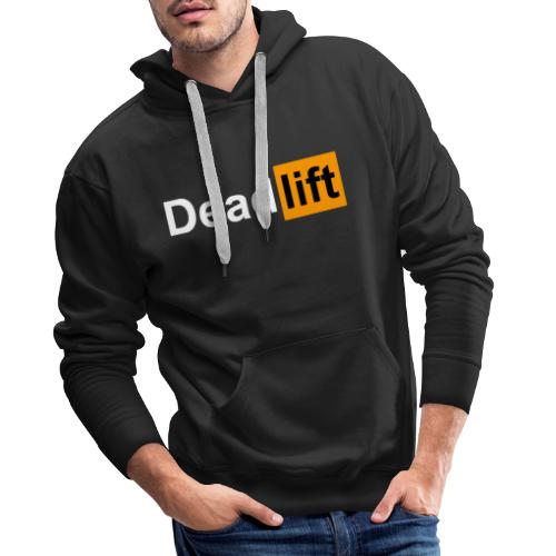 DeadLift X - Sweat-shirt à capuche Premium pour hommes