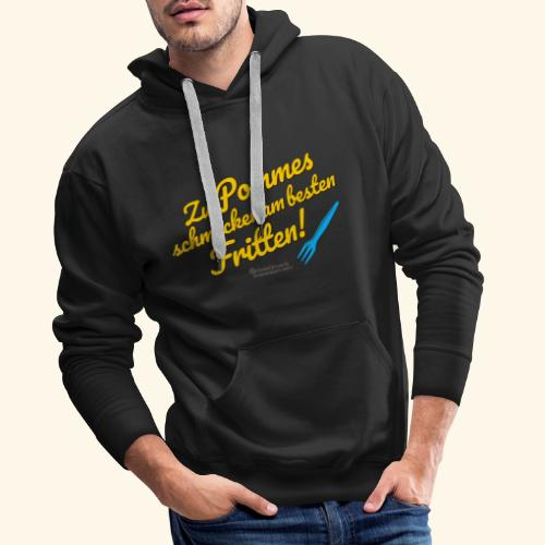 Pommes & Fritten   Geek T-Shirts - Männer Premium Hoodie