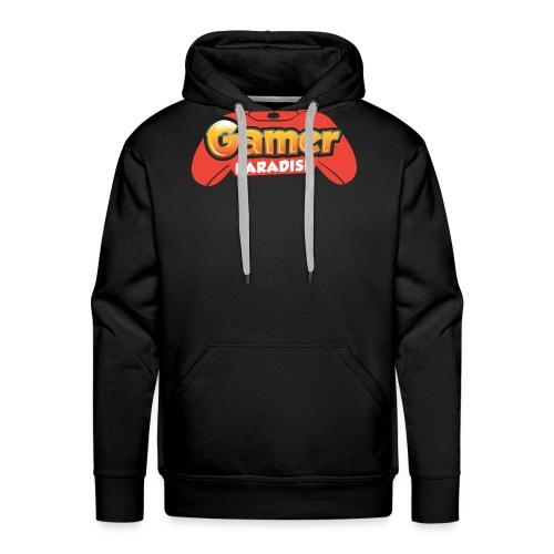 Gamer Paradise Logo - Männer Premium Hoodie